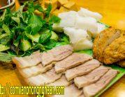 Bún đậu mắm tôm tại Nghệ An