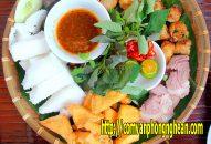 Bún đậu mắm tôm Vinh Nghệ An