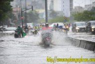 Nghệ An mưa lớn gây ngập nhiều tuyến đường