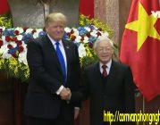 Tổng thống Donald Trump hội kiến với Tổng Bí thư